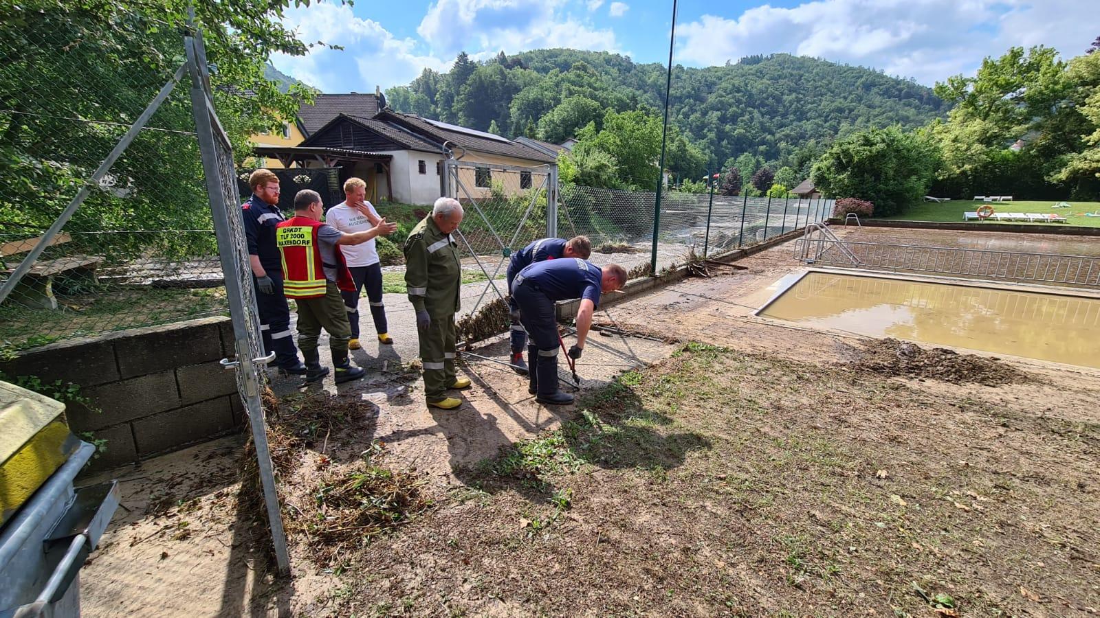 2021-07-19 - Unwettereinsatz-Aggsbach-Dorf (4)
