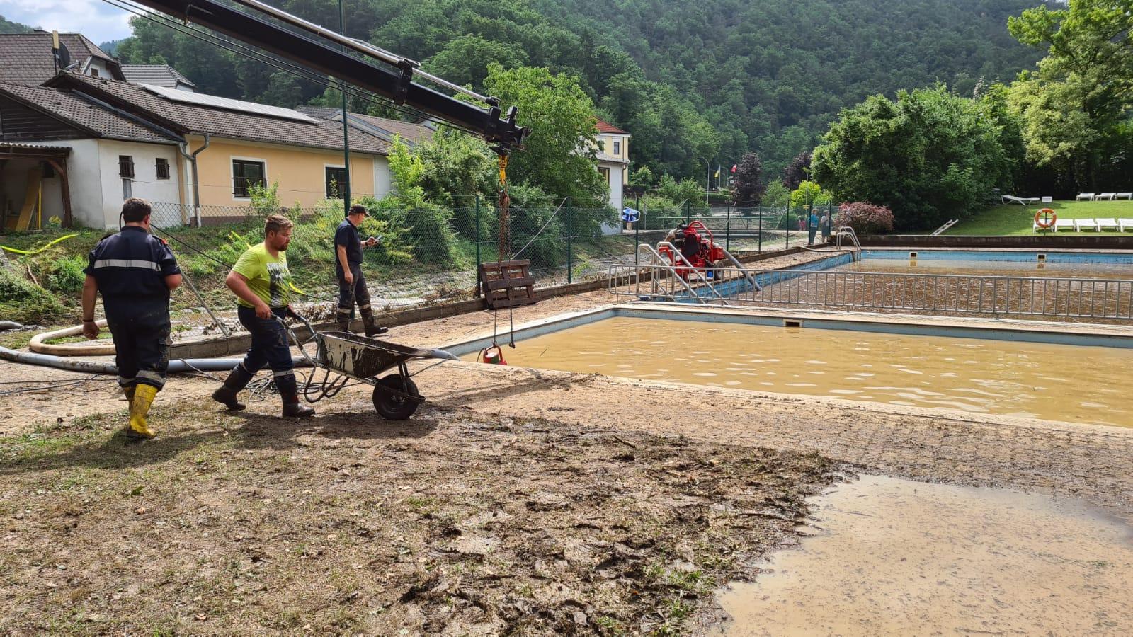 2021-07-19 - Unwettereinsatz-Aggsbach-Dorf (5)